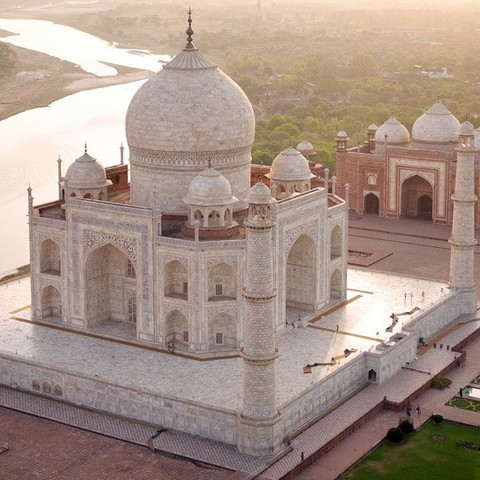 Download free 3D printing templates Taj Mahal (designed in tinkercad), Aakaar_Lab