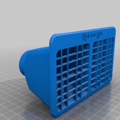 Télécharger fichier imprimante 3D gratuit Impression 3D de la ventilation arrière de la voiture Renault Kwid, Aakaar_Lab