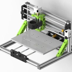 Download free 3D printer designs Mostly 3D printed CNC 3018 DIY, Aakaar_Lab