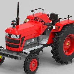 Free 3D printer files RC Tractor 3D printable, Aakaar_Lab