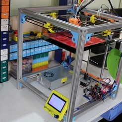 Free 3D printer designs Remix of Ulticube, Aakaar_Lab