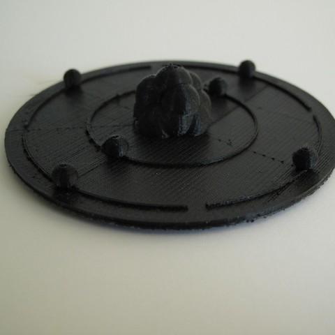 Télécharger fichier imprimante 3D gratuit Atome de carbone, Durbarod