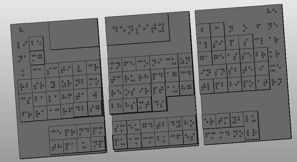3_display_large.jpg Télécharger fichier STL gratuit Amélioration du tableau périodique en braille (densité) • Modèle imprimable en 3D, Durbarod