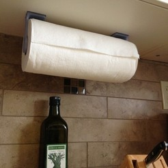 Free 3D printer model Paper Towel Roll Holder, Durbarod