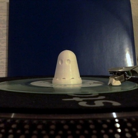 Download free 3D printing models Ghostly 45 Adapter / Record Topper, Durbarod