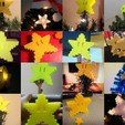 Download free 3D printing models Pixel tree topper star, Durbarod