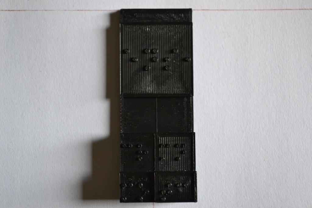 1_display_large.jpg Télécharger fichier STL gratuit Amélioration du tableau périodique en braille (densité) • Modèle imprimable en 3D, Durbarod