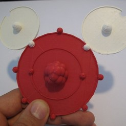 Download free 3D printer templates Bonding atoms, Durbarod