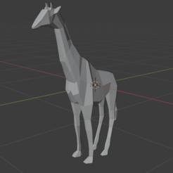Jirafa principal.png Télécharger fichier STL Poly girafe : Poly girafe • Objet imprimable en 3D, aalexprzzz