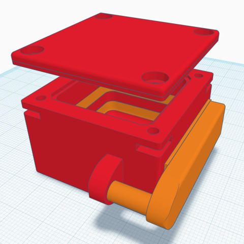 3D printer models Ice Padlock, widestorm