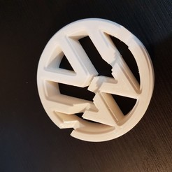20190809_173341.jpg Download STL file vw phone holder • 3D printing object, eugenedossantos