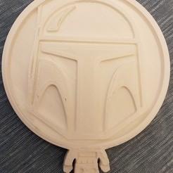 Download 3D printer model Starwars coaster set, eugenedossantos
