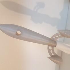 Download 3D model Rocket, eugenedossantos