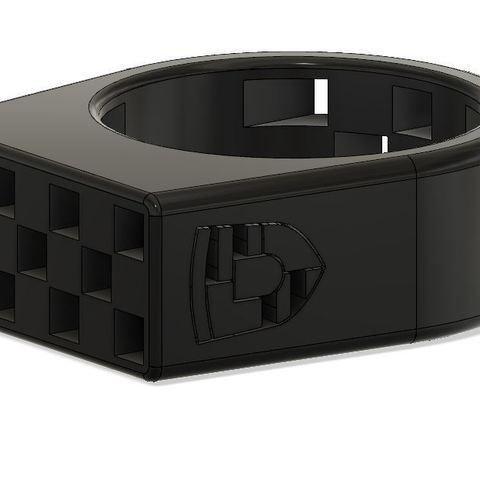 Download 3D printing files Porsche ring, eugenedossantos