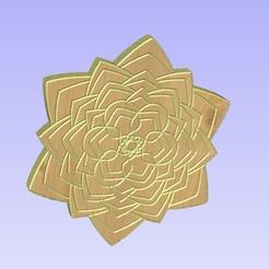 Untitled-13.jpg Download STL file Mandala 18 • 3D printable model, victor999