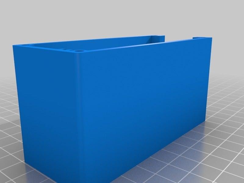 lcd1920x1200base_half.png Download free STL file LCD controller case V29, V59 • 3D printer object, victor999