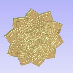 Untitled-1.jpg Download STL file Mandala 181144561 • 3D printer model, victor999