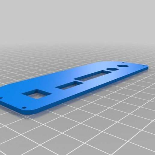 "LCDboardcaseSide1.jpg Download free STL file LCD 10.1"" case • 3D printable template, victor999"