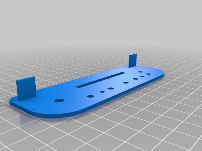 "LCDboardcaseSide2.jpg Download free STL file LCD 10.1"" case • 3D printable template, victor999"