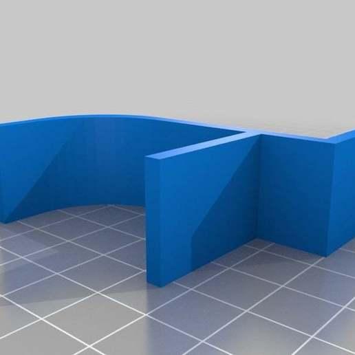 "LCD10FrameCaseHolder.jpg Download free STL file LCD 10.1"" case • 3D printable template, victor999"