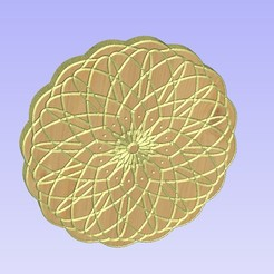 Untitled-8.jpg Download STL file Mandala 13 • 3D printable object, victor999