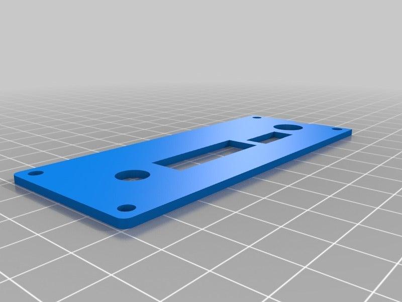 lcd1920x1200back-2.png Download free STL file LCD controller case V29, V59 • 3D printer object, victor999