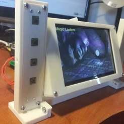 Télécharger fichier impression 3D gratuit Etui à cape Beaglebone LCD 5, victor999
