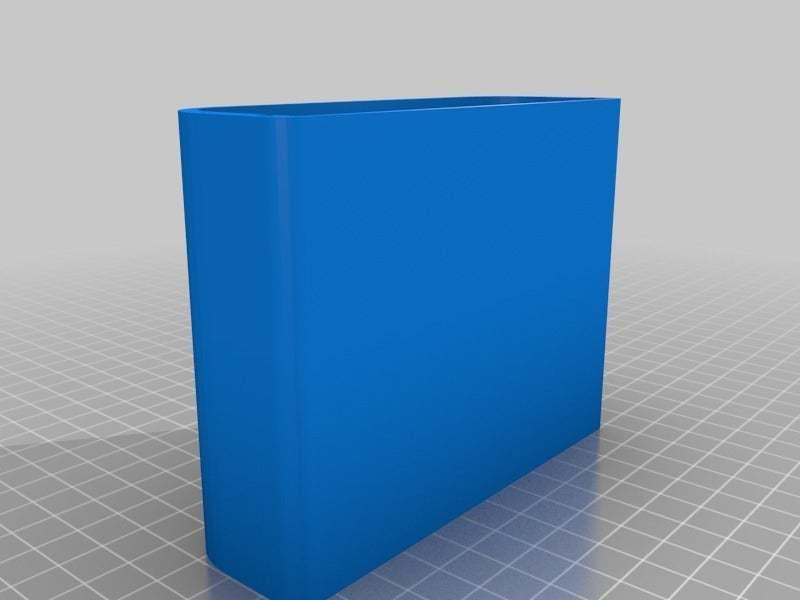 "LCDboardcase.jpg Download free STL file LCD 10.1"" case • 3D printable template, victor999"