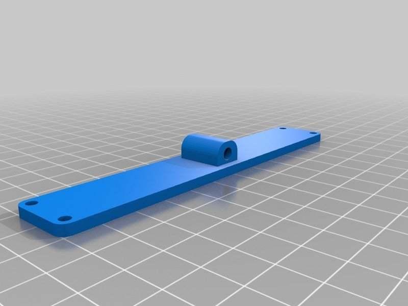 "LCD10FrameBackHolder.jpg Download free STL file LCD 10.1"" case • 3D printable template, victor999"