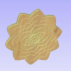 Untitled-6.jpg Download STL file Mandala 11 • 3D printer object, victor999