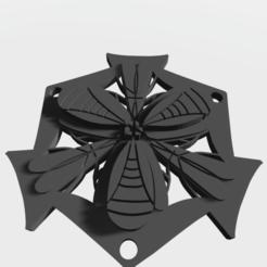 Télécharger plan imprimante 3D Pendentif géométrique abstrait, victor999