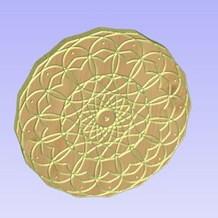 Untitled-7.jpg Download STL file Mandala 12 • 3D printing object, victor999