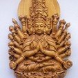 Download free STL file kwan-yin bodhisattva with thousands of heads and hands • 3D printing design, victor999