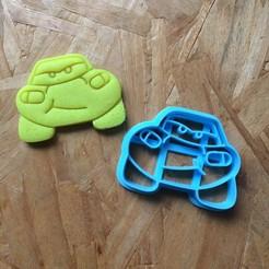 Télécharger fichier STL gratuit Découpeuses de voitures, coupe-biscuits, foudre et matte • Design imprimable en 3D, porahi3d