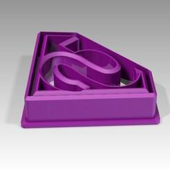 SUPERMAN.jpg Télécharger fichier STL CUTTERS • Plan imprimable en 3D, equinoxxiovelas