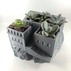 Download 3D print files Lenami Pot | Planter Cube LENAMI, MA-DisenosCreativos