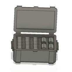 Download free STL file WH40k Sci-Fi Ammo Crate • 3D printable object, SPQRWargames