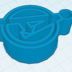 3D print model Key ring Avengers logo, marcelosaldivia