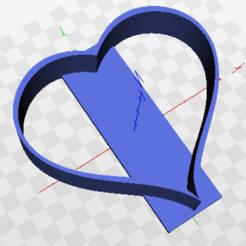 Descargar archivos 3D gratis Cortante Corazon San Valentin, marcelosaldivia