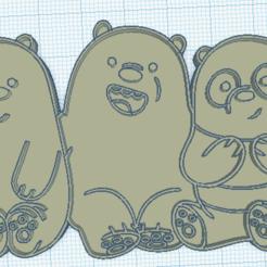 Télécharger plan imprimante 3D Coupure scandaleuse / nous mettons les ours à nu, marcelosaldivia
