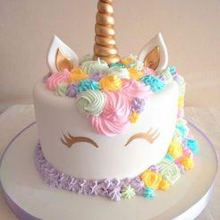 Download 3D printing files Cake Top Unicorn Face KIT, marcelosaldivia