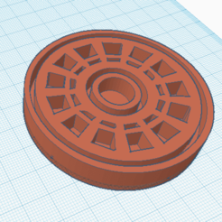 3D printing model Ironman ARC Reactor Cutting foudant, biscuits, marcelosaldivia