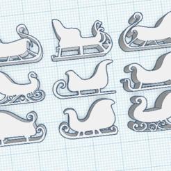 Chirimbolo9.png Download STL file Christmas Ornaments Set • 3D printing object, marcelosaldivia