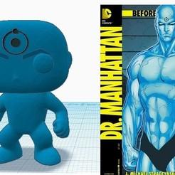 drmh.jpg Download STL file Dr. Manhattan POP • 3D print object, marcelosaldivia
