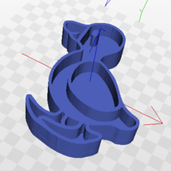 Download free 3D printer templates Duck biscuit cutter, marcelosaldivia