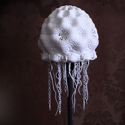 Free STL Jellyfish Lampshade, Yazhgar