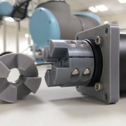 Télécharger fichier 3D gratuit Accouplement moteur pas à pas (essai avec une charge de 100 kg), Yazhgar