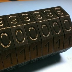 Download free 3D print files Da Vinci Code Cryptex, Yazhgar