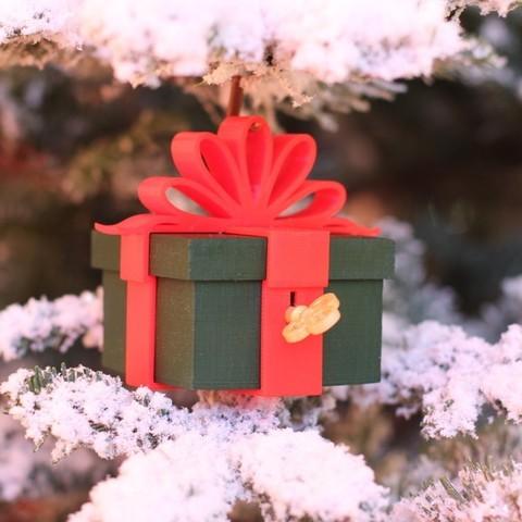 Télécharger modèle 3D gratuit Ornement cadeau verrouillable, Yazhgar