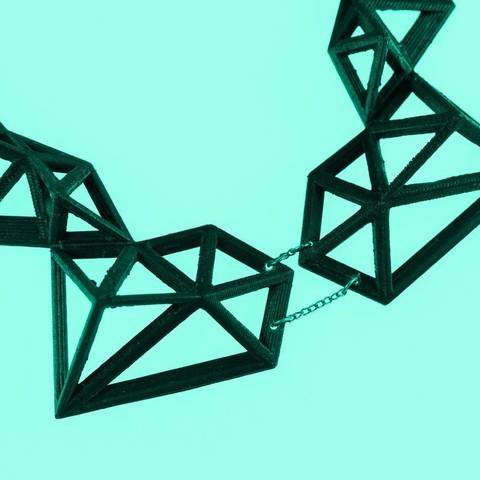 polix_3_display_large.jpg Télécharger fichier STL gratuit Polix - Collier Polygonal • Plan pour impression 3D, Yazhgar